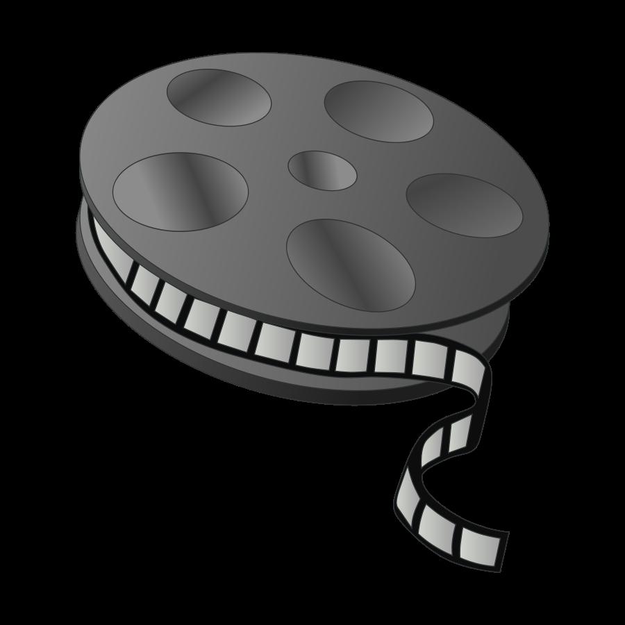 Movie Reel Clipart  vector clip art online  royalty free design    Movie Camera Clip Art Png