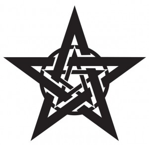Free Black And White Star Clip Art