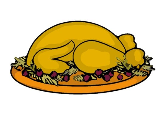 clipart thanksgiving table - photo #13