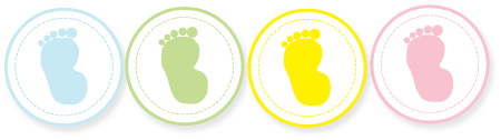 Footprint Baby Shower Ideas for decorations, supplies and menu ...