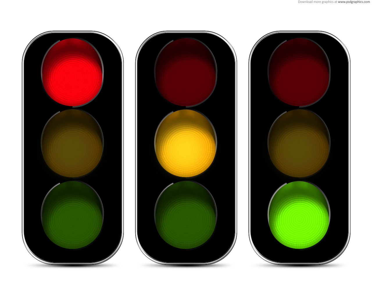 Red Stop Light - ClipArt Best
