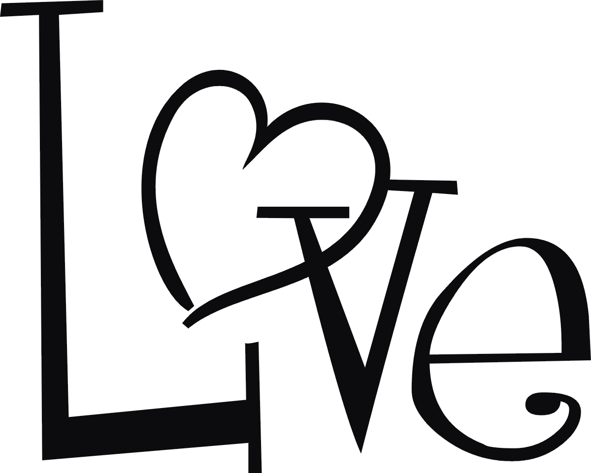 Simple Heart Line Art : Love heart line drawing clipart best