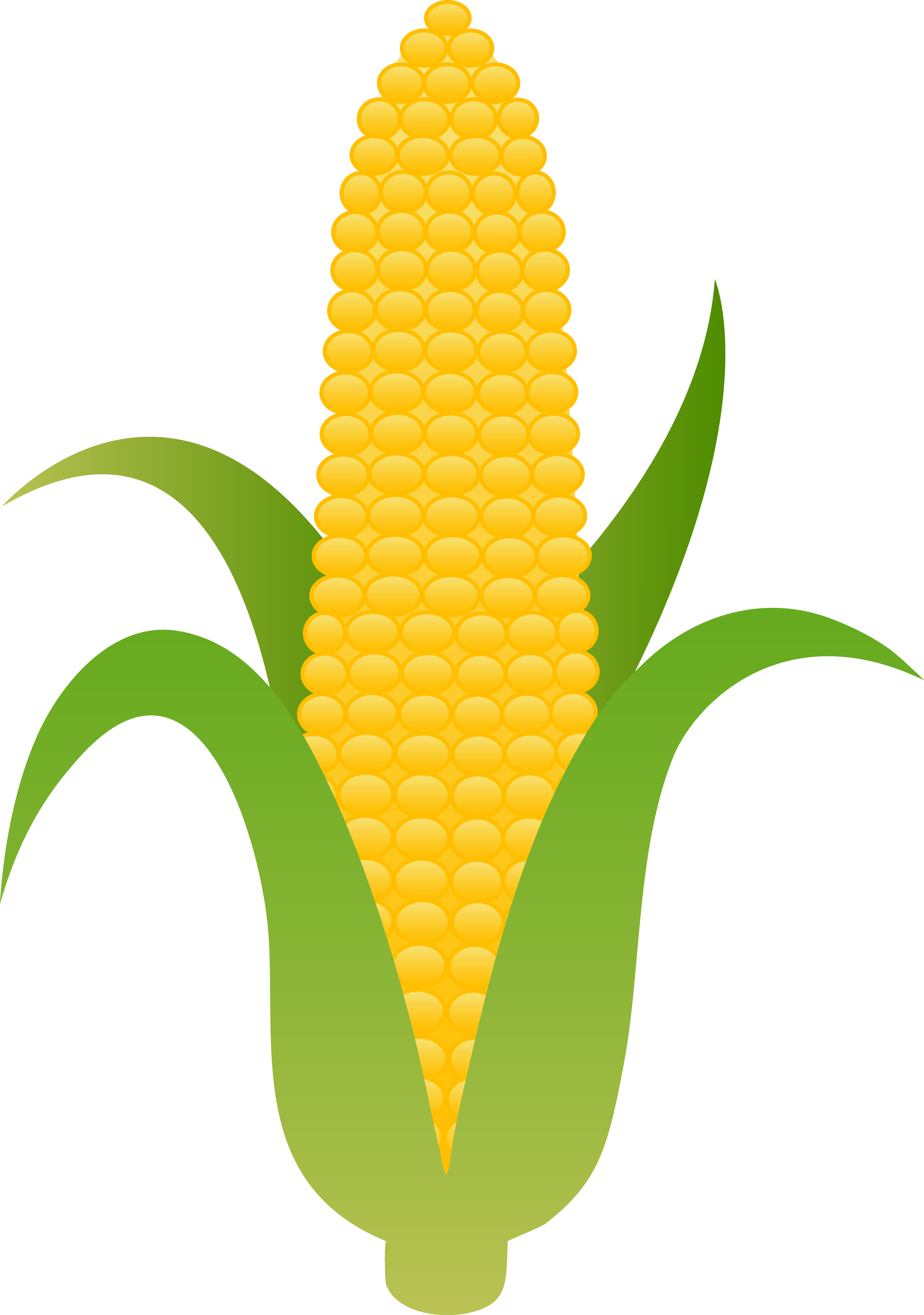 In The Can Corn Clipart