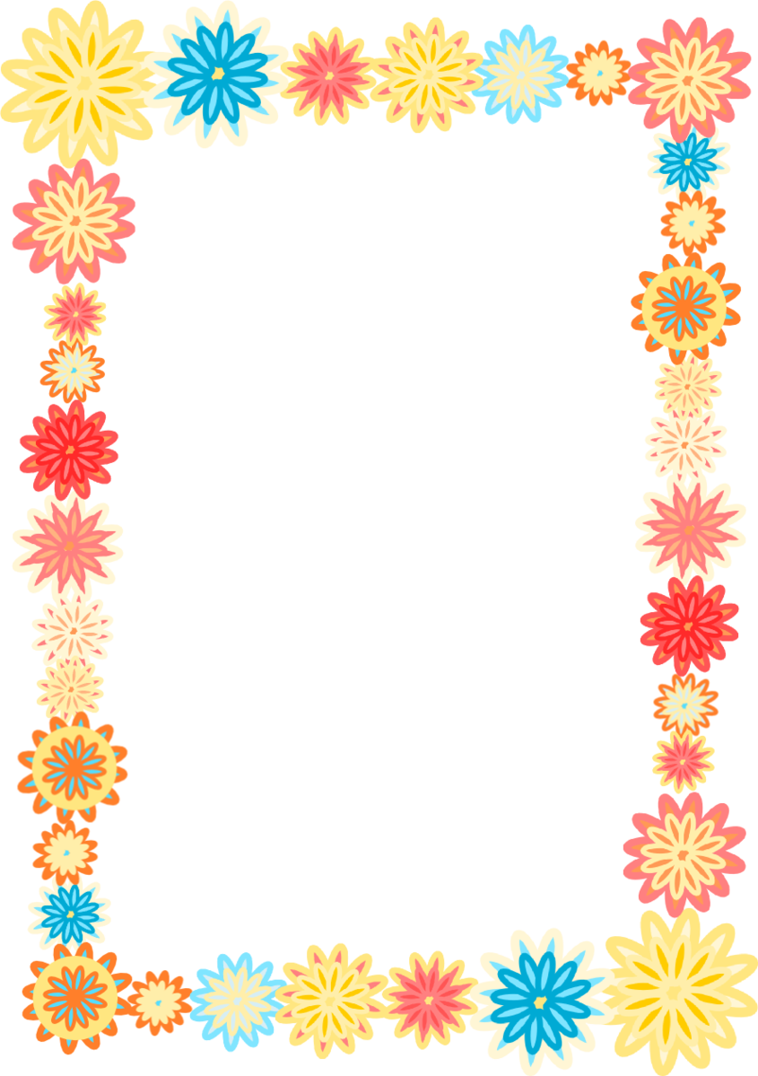 Background Frame Flower Clipart - Free to use Clip Art Resource ...