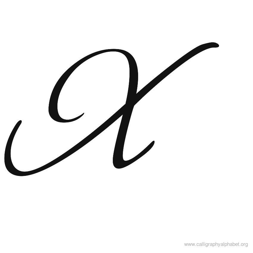 Fancy letter clipart best