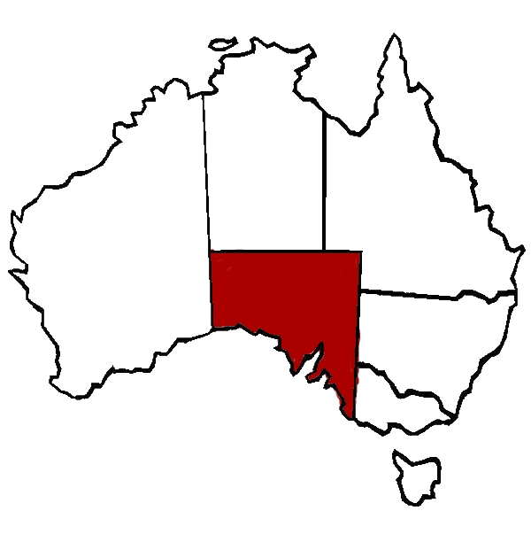 Outline Map Of South Australia - ClipArt Best