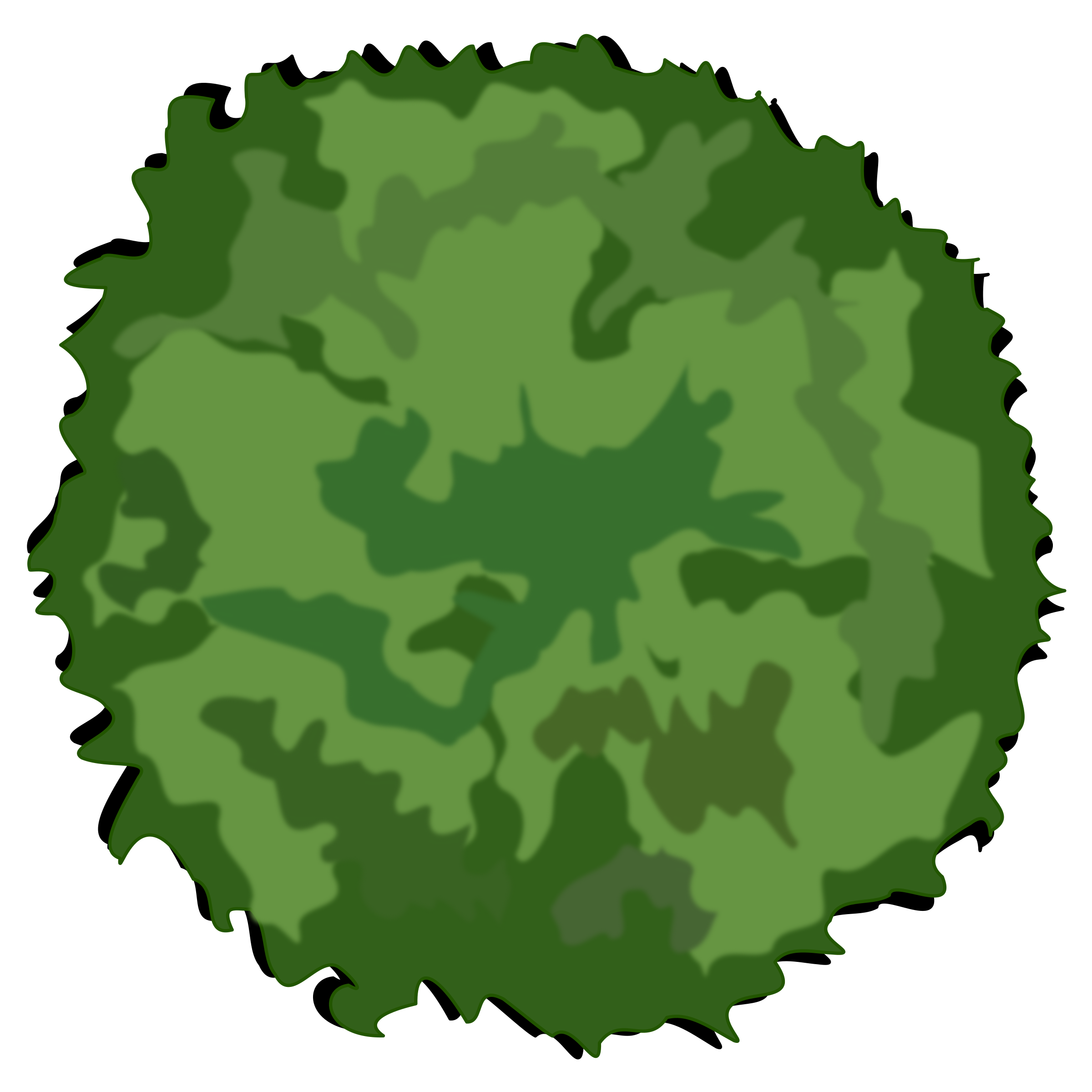 Treetop Outline - ClipArt Best