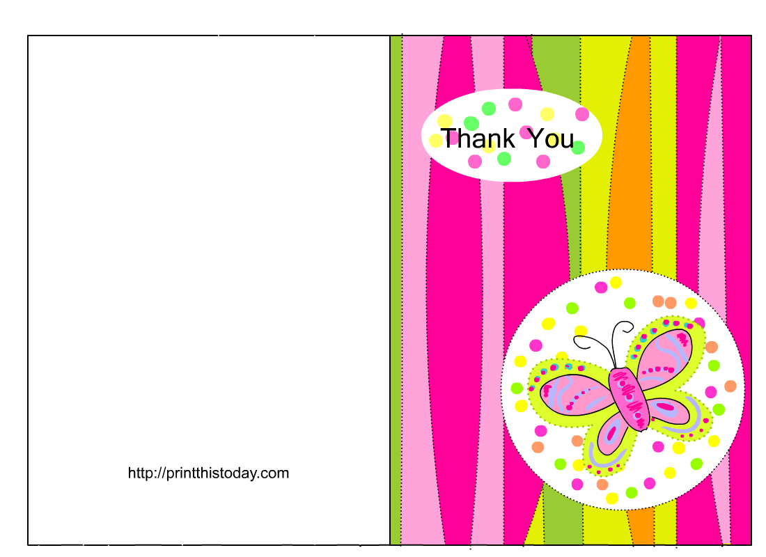 Microsoft Thank You Card Template Free Thank You Cards