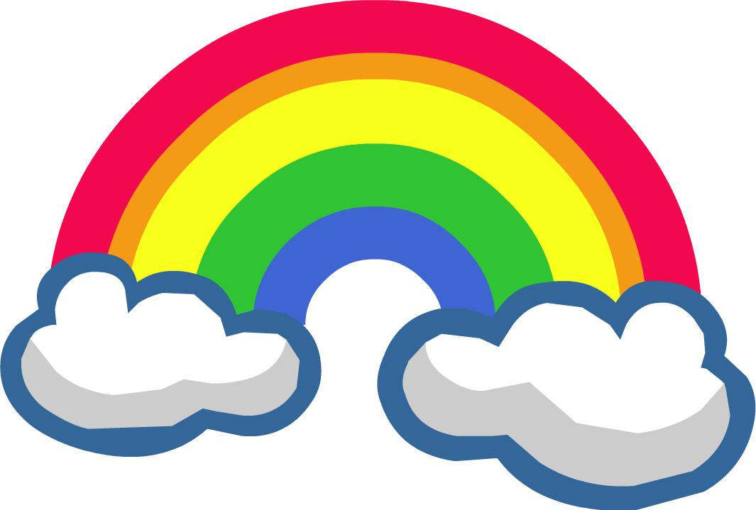 Cartoon Rainbow Png Clipart Best