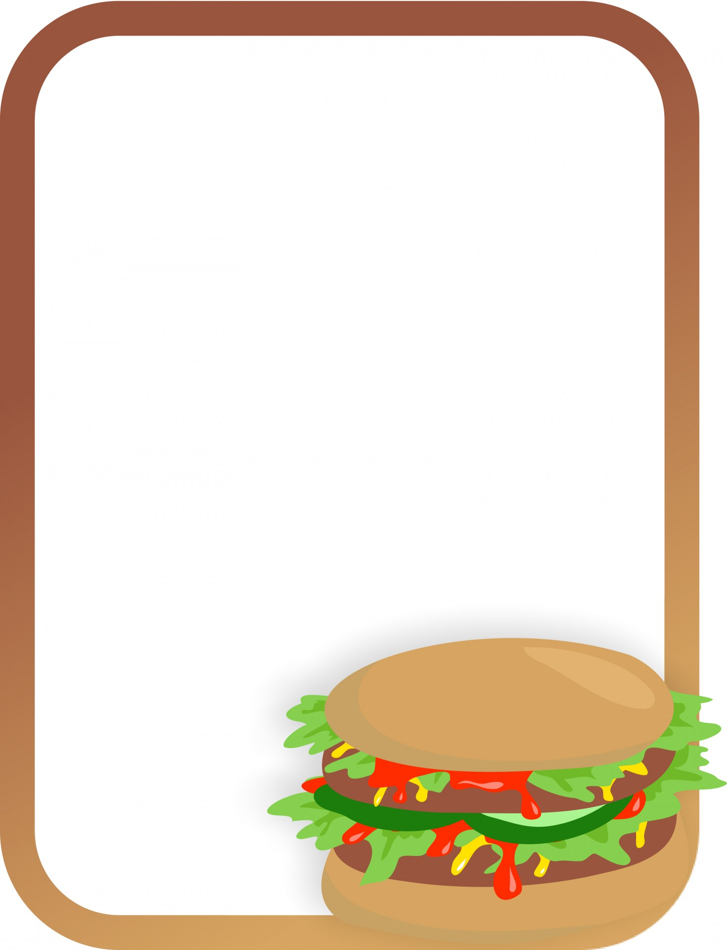 Free Menu Borders - ClipArt Best
