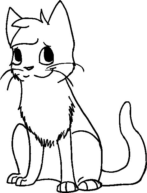 Cartoon Cat Sitting Clipart Best