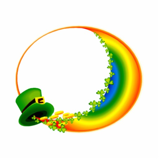 Rainbow Circle Png Clovers Circle Rainbow Png