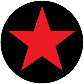 Red Star Small Button