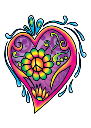 flower and heart tattoo designs clipart best. Black Bedroom Furniture Sets. Home Design Ideas