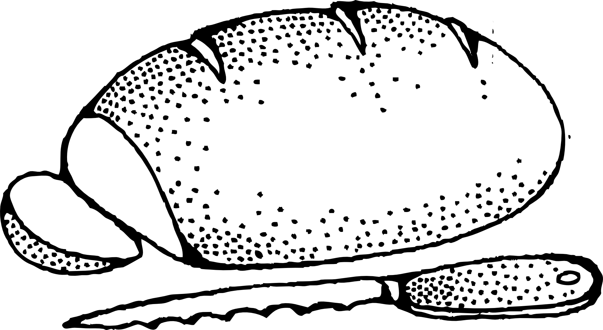 Loaf Of Bread Cartoon Clipart Best Bread Coloring Page