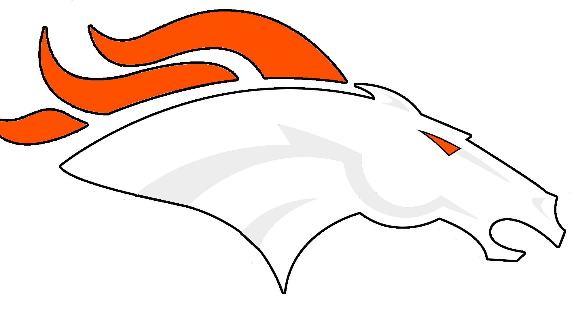 Denver Broncos Logo Clip Art - ClipArt Best - ClipArt Best