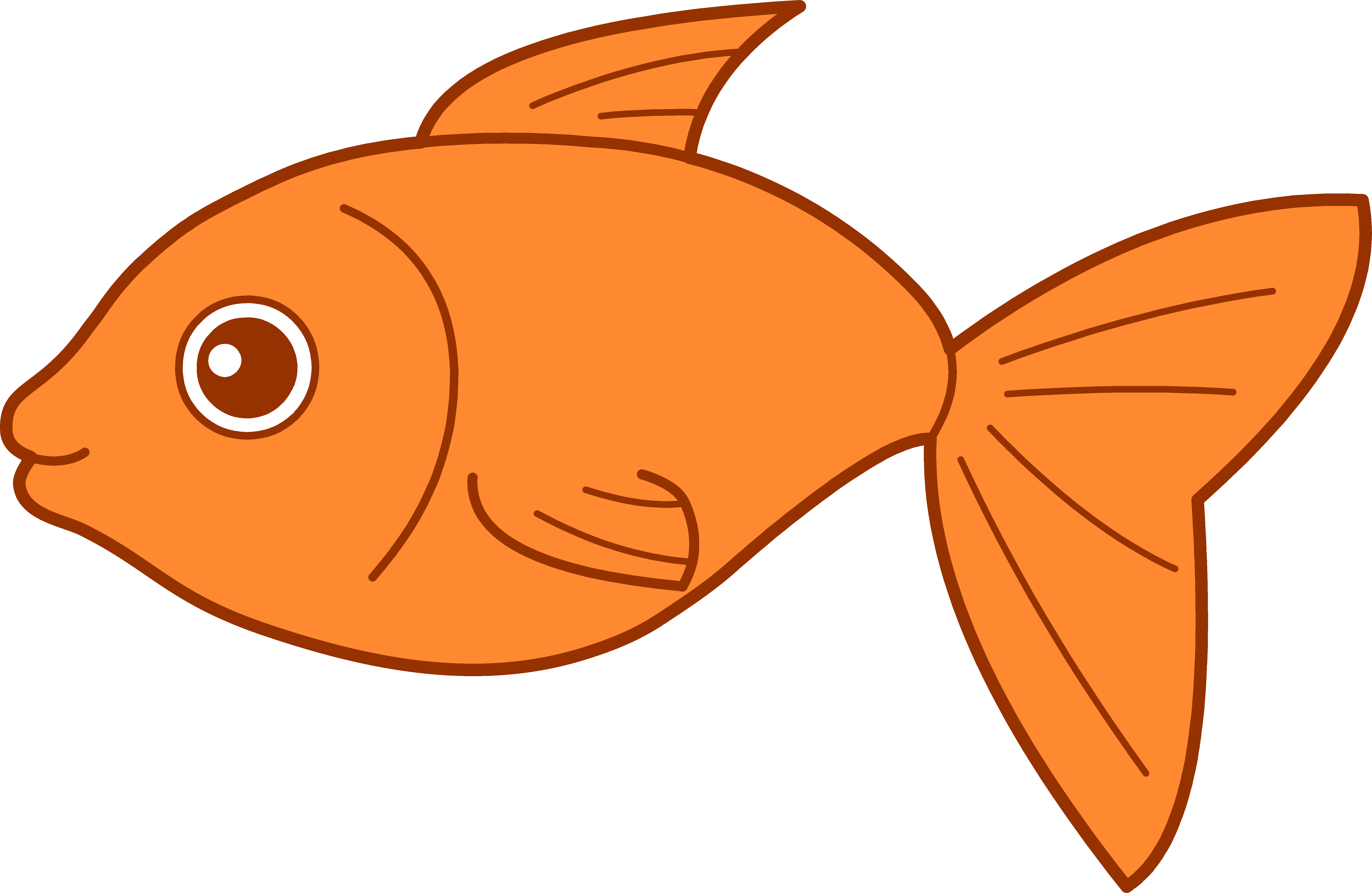 Cartoon pictures of fish clipart best for Cartoon fish pictures