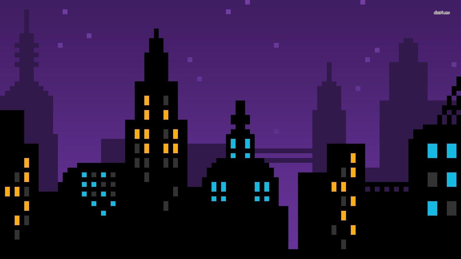 cartoon night vector wallpaper - photo #14