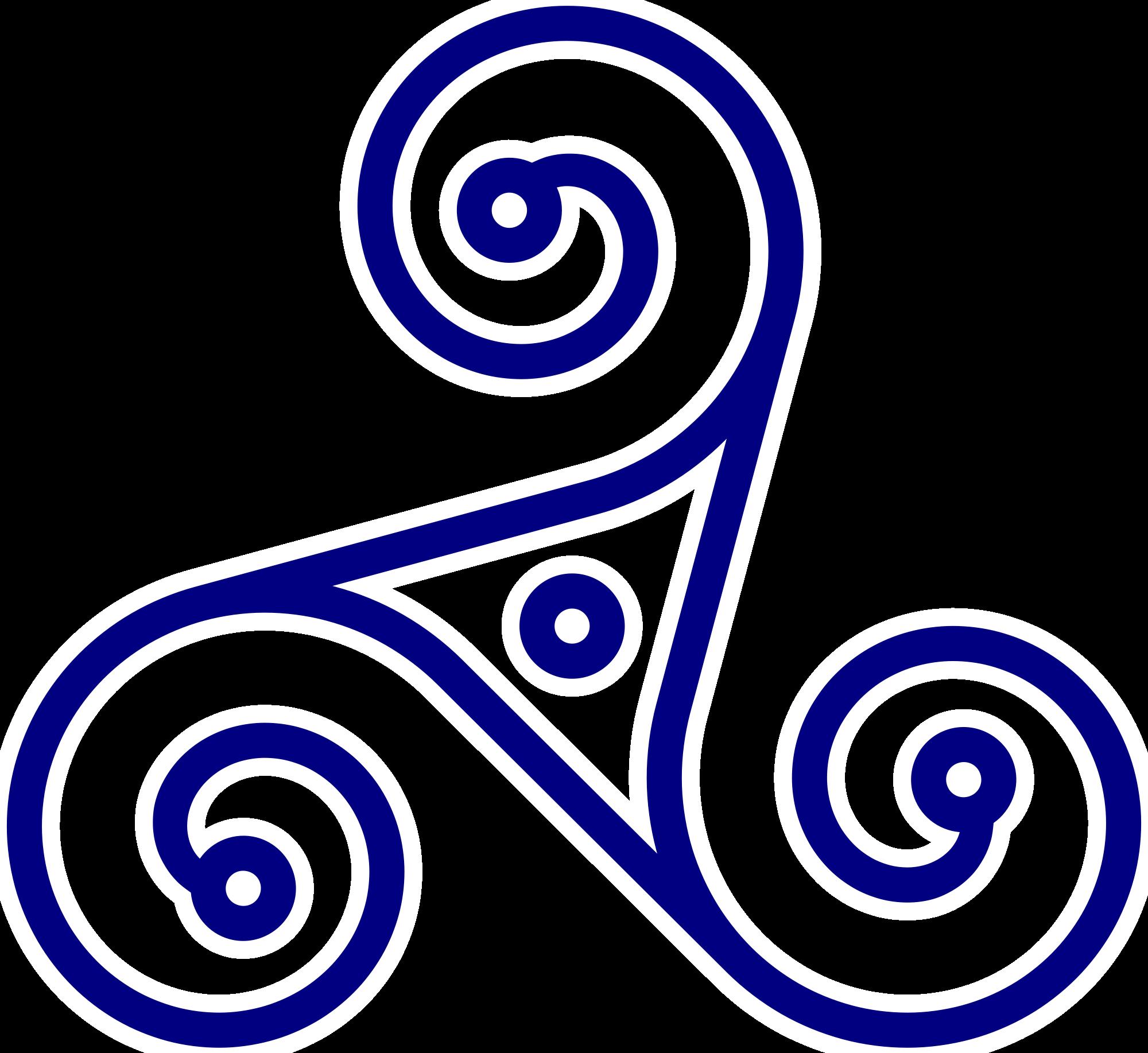 Трискель тату