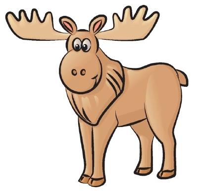 Moose face cartoon - photo#41