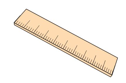 Ruler Black And White - Free Clipart Images