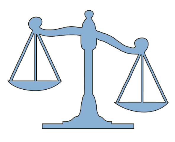 Unbalanced Scale Clipart