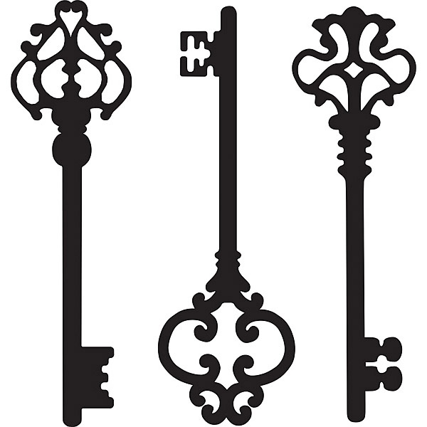 Pictures Of Skeleton Keys - ClipArt Best