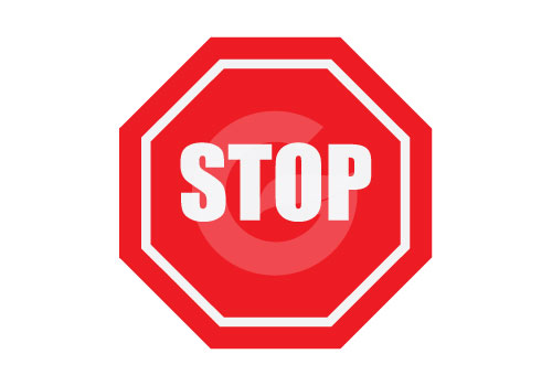 Stop Sign Template Printable - Graphicsrocks