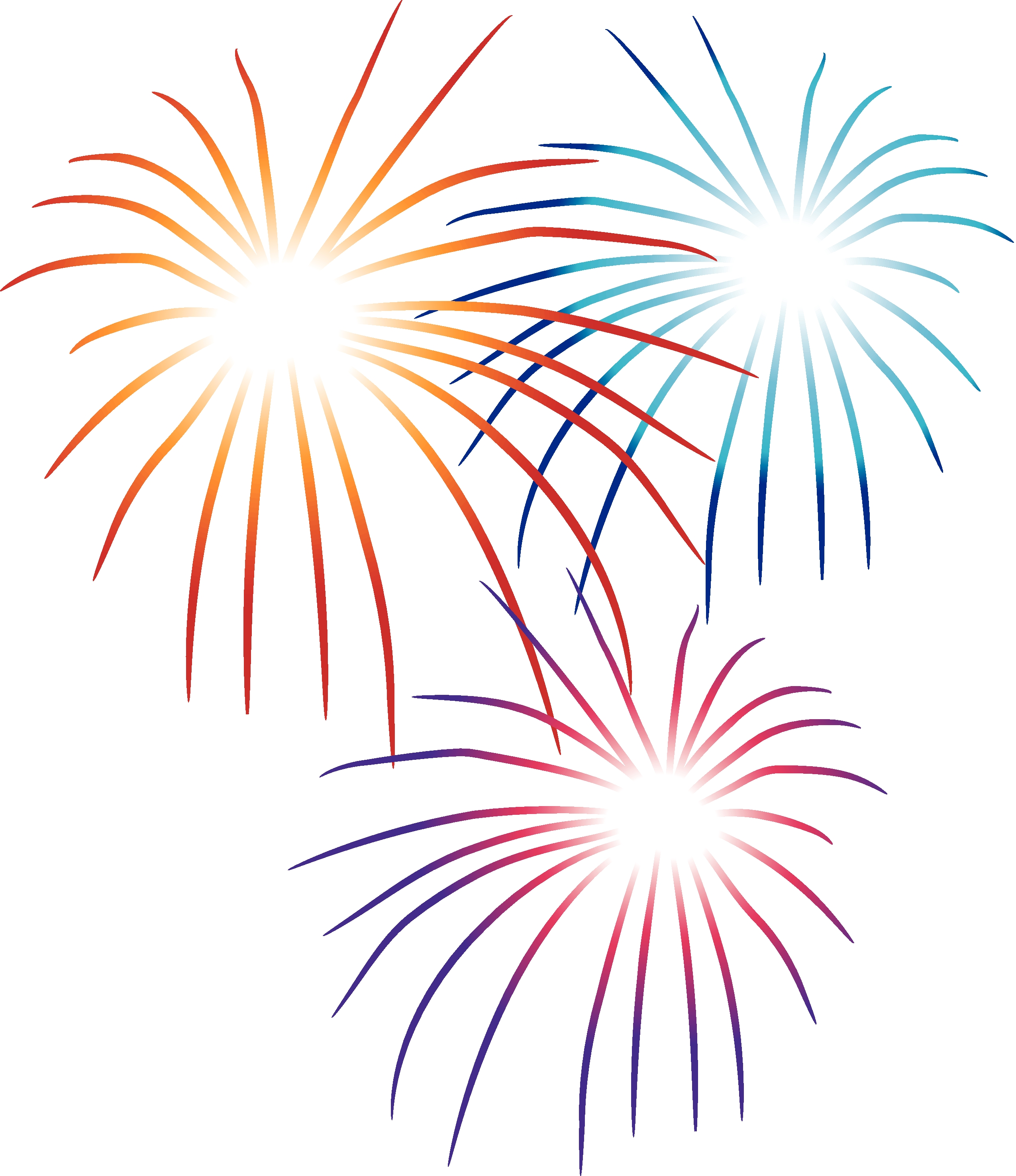 Clipart fireworks free