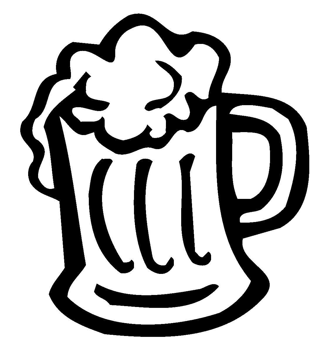 Black And White Beer Cartoon - ClipArt Best: www.clipartbest.com/black-and-white-beer-cartoon
