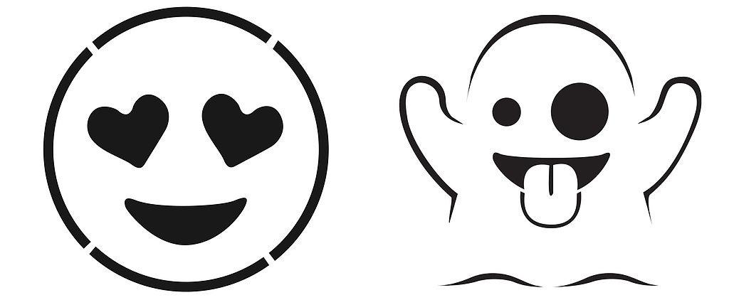 Free Emoji Pumpkin Templates Popsugar Tech Clipart