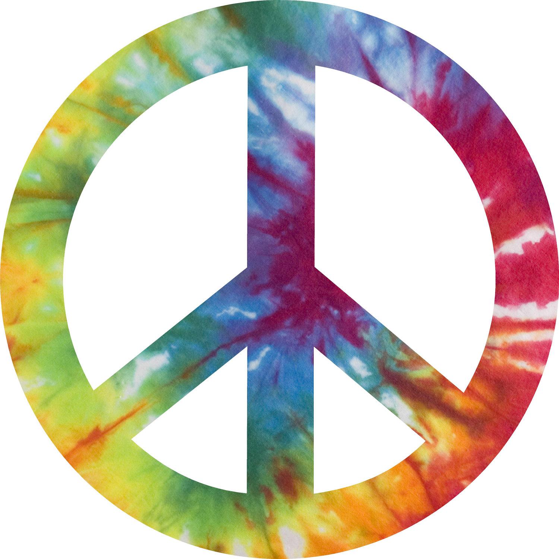 hippie peace sign clipart best