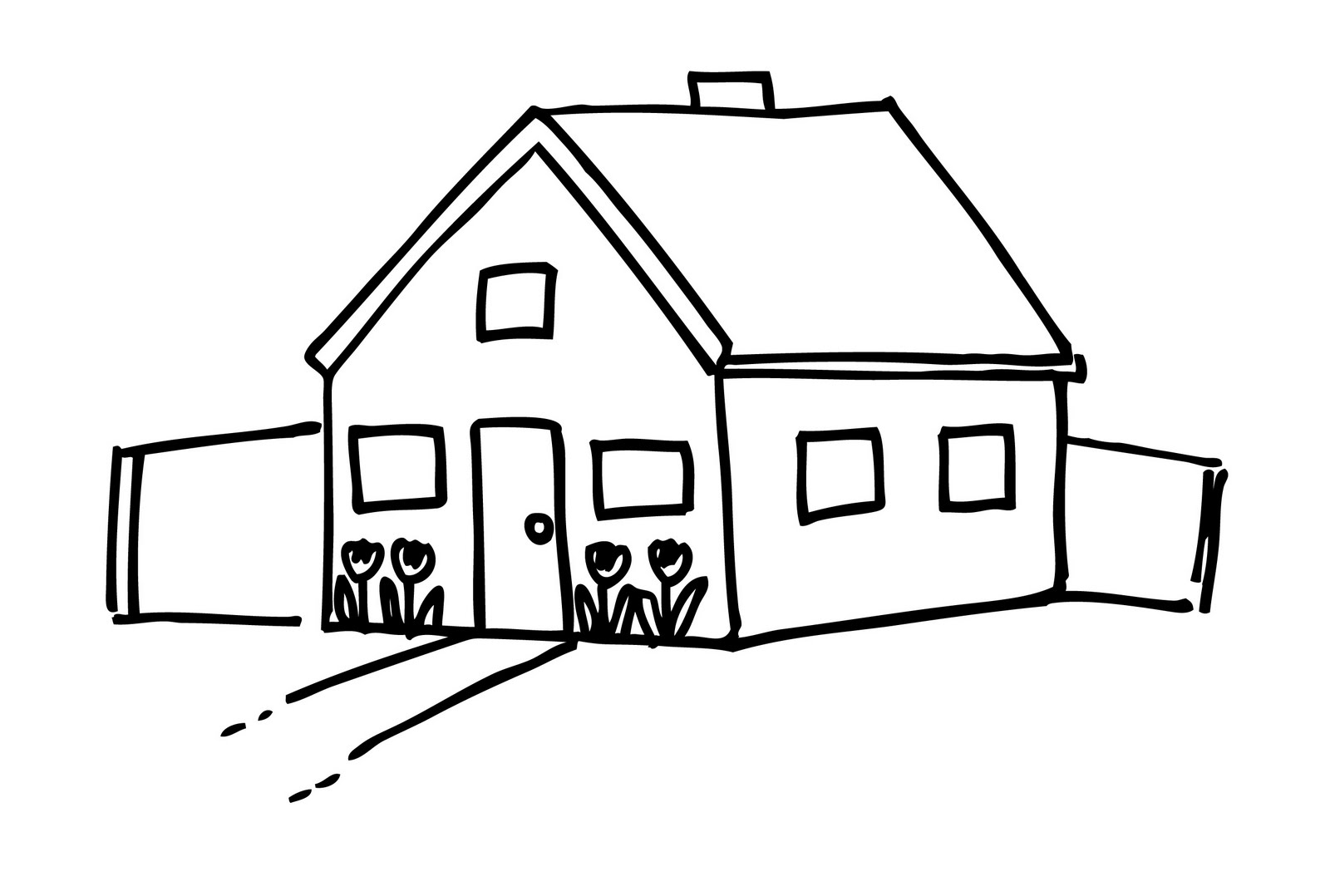 School House Clip Art Black And White - ClipArt Best