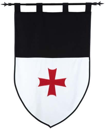 Medieval Flag Outline - ClipArt Best