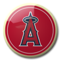 Los Angeles Angels Baseball Logo Pictures, Images & Photos ...