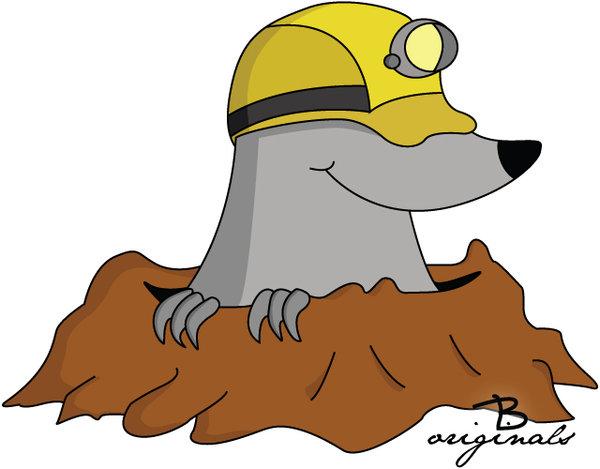 Mole Animal Cartoon - ClipArt Best