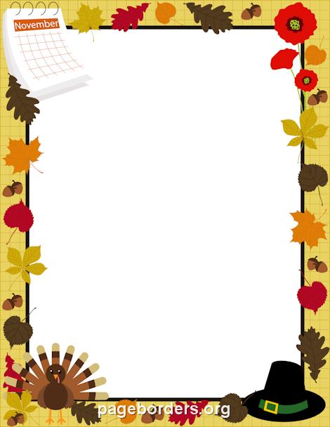 Thanksgiving Calendar Art : November calendar clip art clipart best