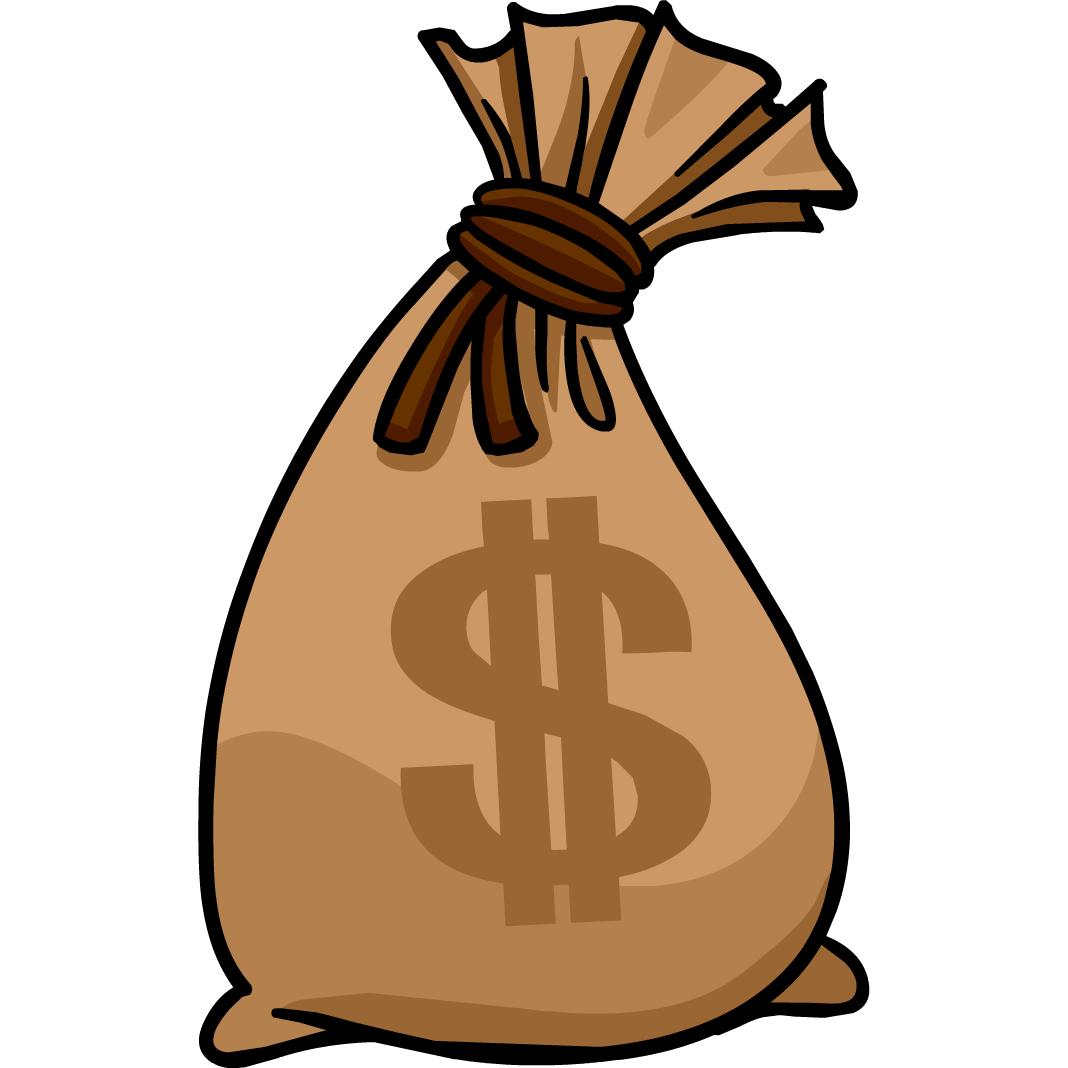 Bag Of Money Cartoon - ClipArt Best