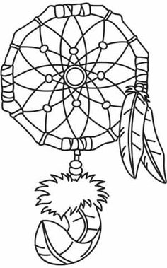 dream catcher tattoo template - dreamcatcher art clipart best