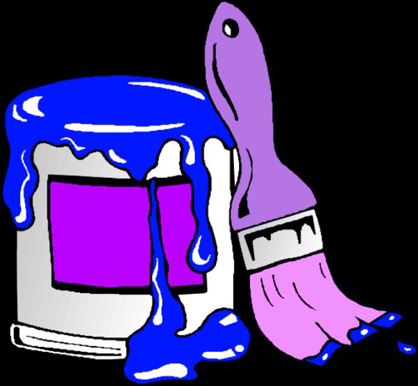 Purple Paint Clipart - ClipArt Best
