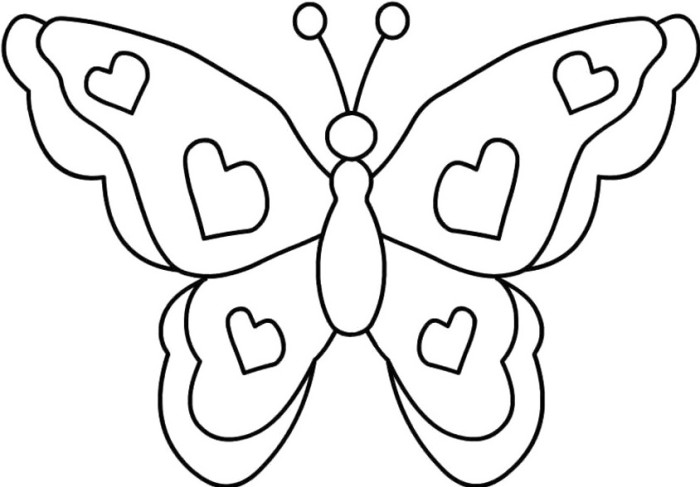 Butterfly designs to color - photo#8