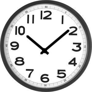 Simple Analog Clock - ClipArt Best - ClipArt Best