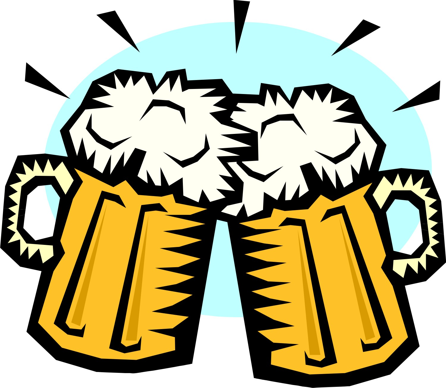 Beer Mug Cheers - ClipArt Best