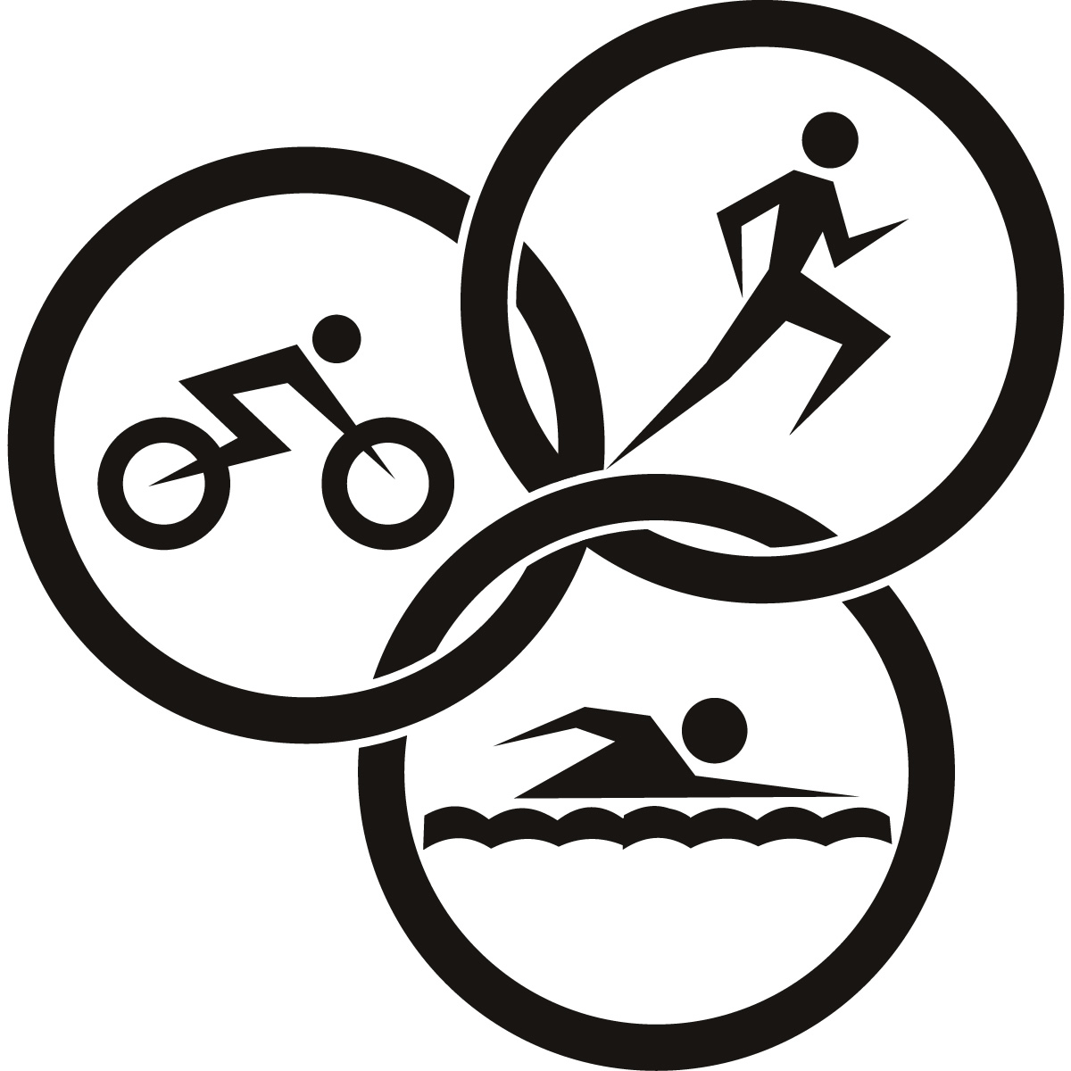 15 triathlon free cliparts that you can download to you computer and ...