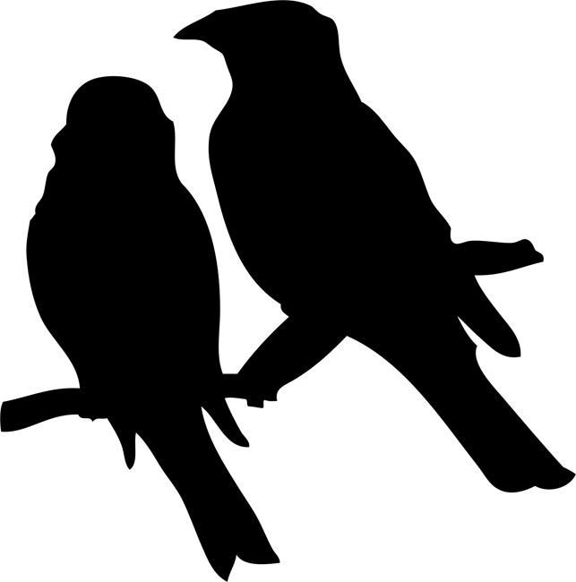 Bird stencils stencilease