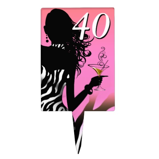 Cake 40th Birthday - ClipArt Best