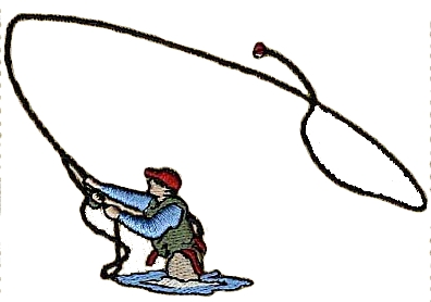 Fly Fishing Clip Art - ClipArt Best