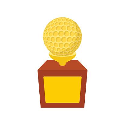 Golf Trophy Clip Art - ClipArt Best