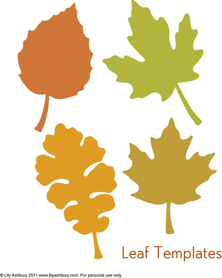 Unusual image within printable fall leaves