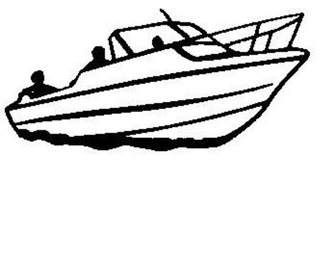 Line Art Boat : Line drawing of a boat clipart best